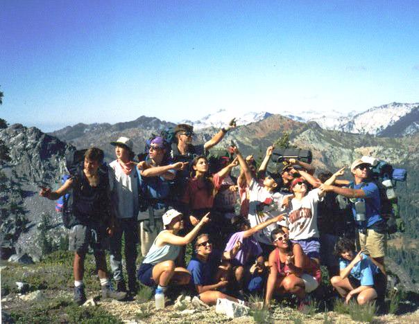 Trek (1991) in the Trinity Alps