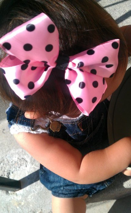 Jackie and hair bows