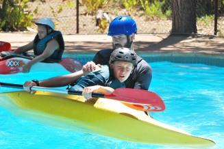Kayak instruction