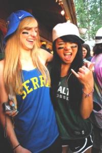 Maddie and Lauren