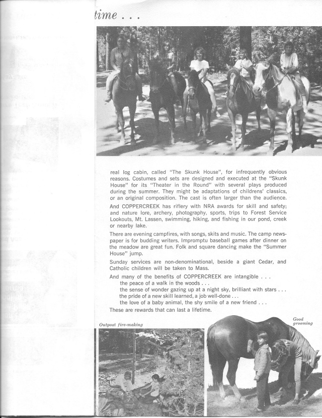 The first brochure: page 4