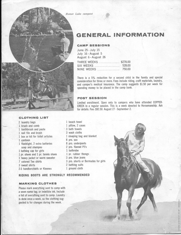 The first brochure: page 5