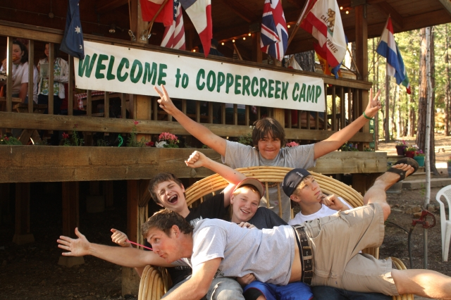 Ryan and his cabin group just being themselves.