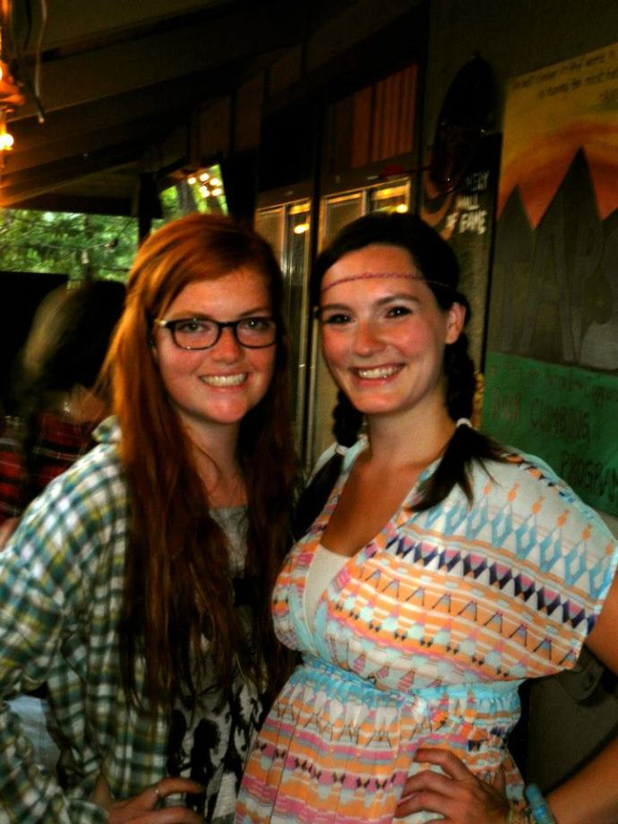 Hannah and Jessica