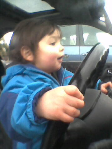 Cathal driving 2