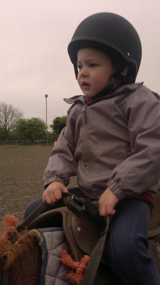 Cathal riding