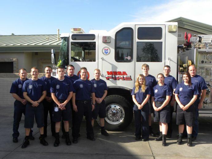 Mesa Fire Volunteers