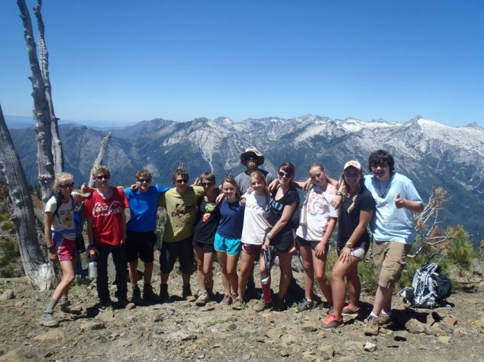 Trek in the Trinity Alps