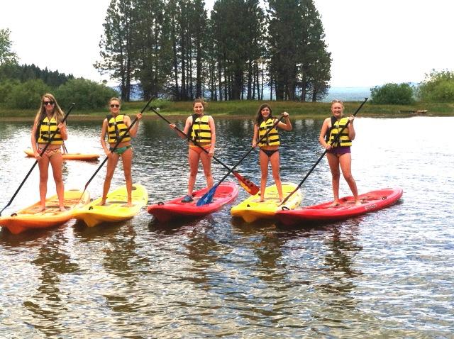SUP at Lake Almanor