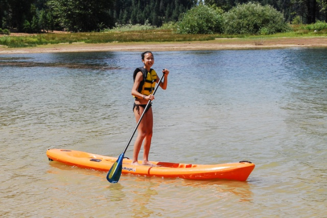 Jess: Stand up paddle boarding, kayaking, Capture the Flag.