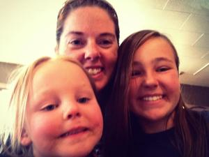 McKenna, Amy and Ryleigh from this summer's visit (2013).