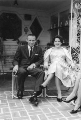 Papa John and Lynne in 1960.
