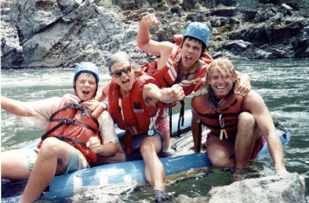 whitewter raft-matt