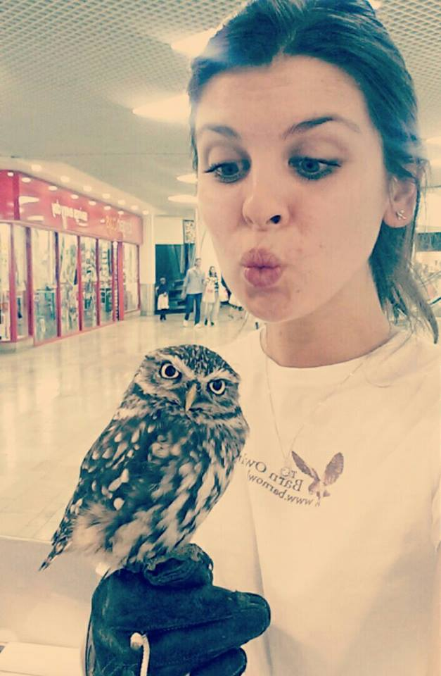 Owl Santuary - Me and Willow
