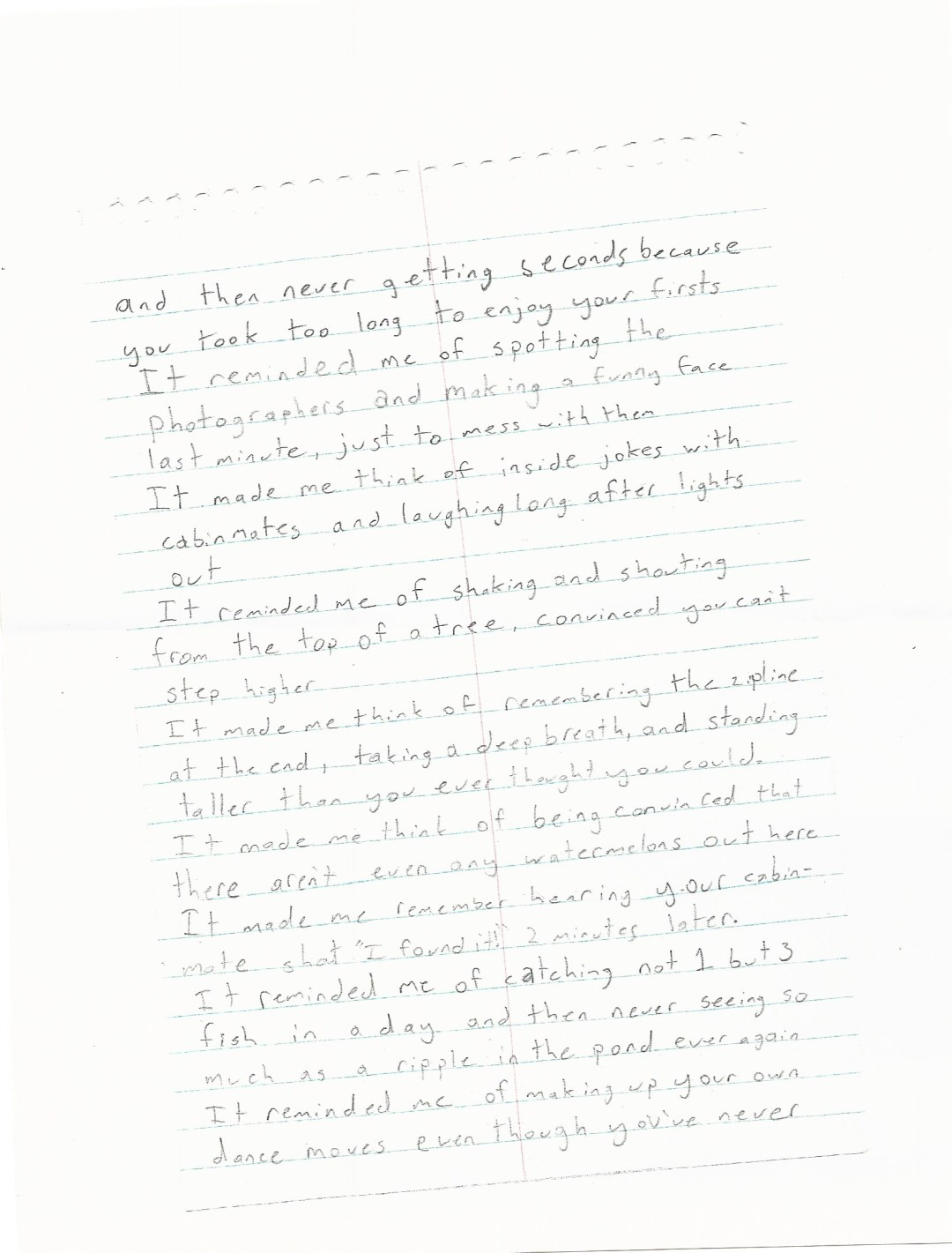 Poem- Gracie 1