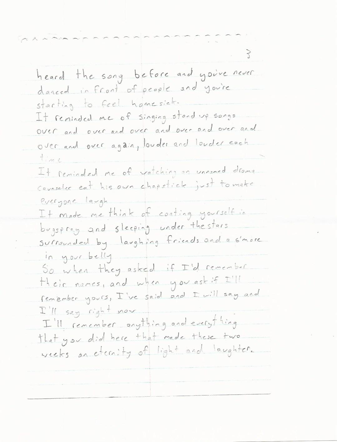 Poem- Gracie 2